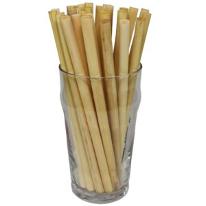 Natural cane Medium fancy drinking straws