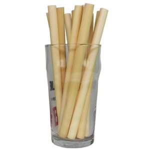jumbo drinking straws from from natrual grass
